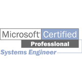 Microsoft Certified Professional Systems Engineer Logo