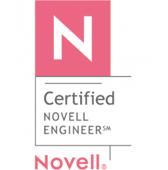 N Certified Novell Engineer Logo